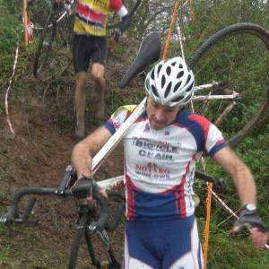Mark Deakin, Somerset Road Club in Cyclo-cross action