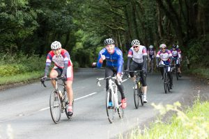 Somerset Road Club members on one of their cycling club social rides