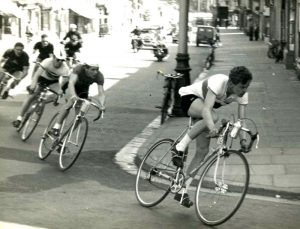Riders in the Tour of Somerset April 1955