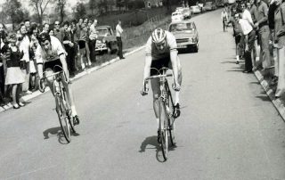 peter sandy of somerset road club winning the southwest divisional road race championships