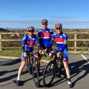 Somerset Road Club members in new team kit