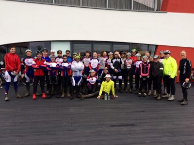 Somerset Road Club end of season social ride to Haynes Motor Museum
